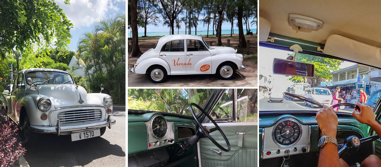 Drive in the past in a vintage car