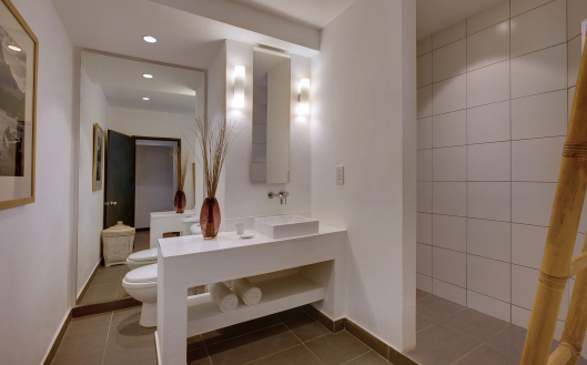 family room bathroom